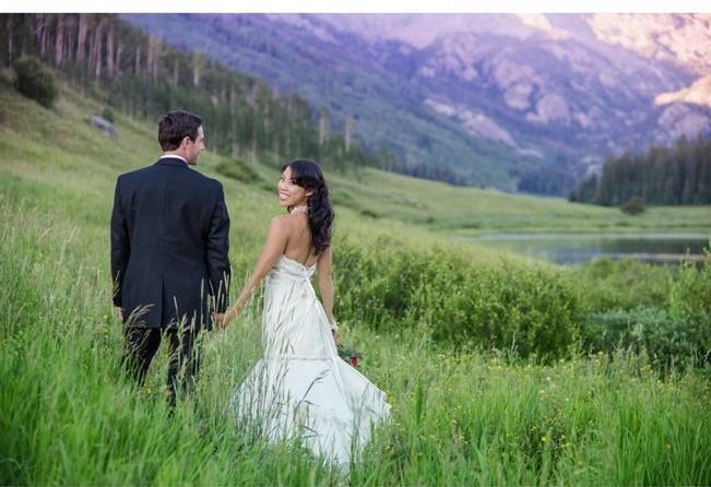 Vail Colorado Mountain wedding