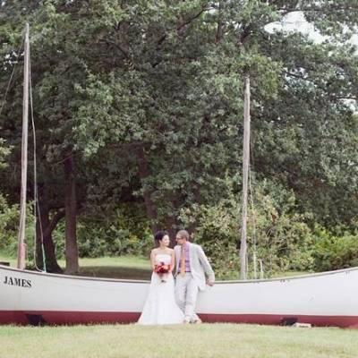 Rustic Thompson Island Surprise Wedding {Dreamlove Photography}