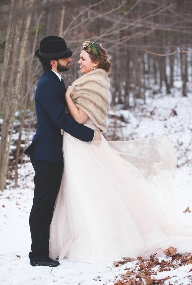 Lavender + Rosemary Winter Wedding Inspiration {Blue Jar Events + Jennifer Bakos Photography} 7_