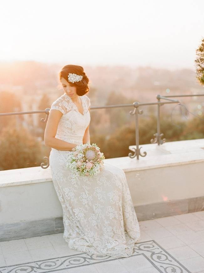 Rome Retreat Bridal Shoot in Frascati, Italy {Buffy Dekmar} 14