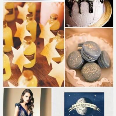 Wedding Inspiration Board #19: Moon & Stars