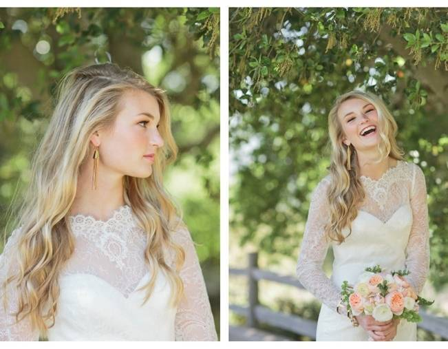 Peach + Coral Shoot at Holman Ranch {Carlie Statsky Photography} 23