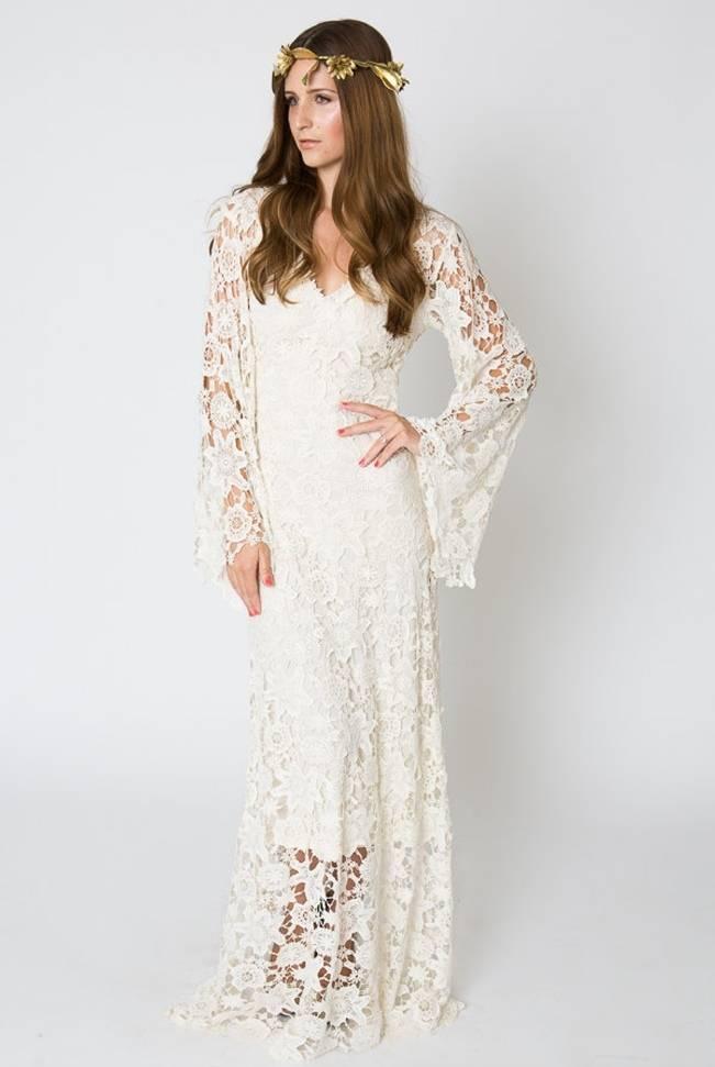 Crochet Wedding Dress Inspiration 1