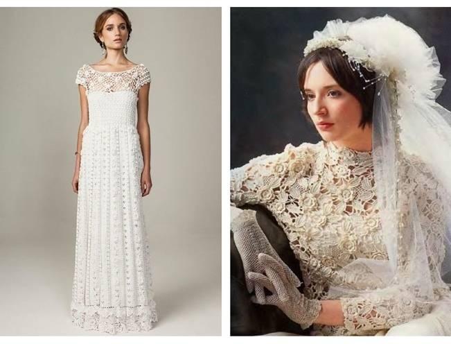 Crochet Wedding Dress Inspiration 2