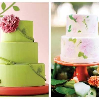 Gorgeous Spring Wedding Cake Inspiration