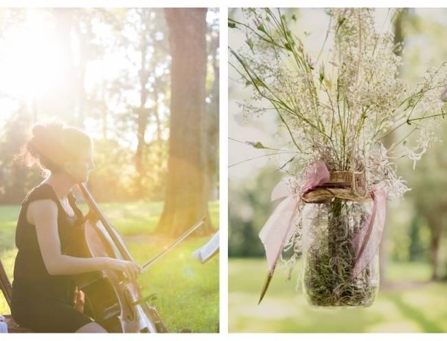 Nature + Vintage Inspired Louisiana Wedding {Heirloom Collective} 13