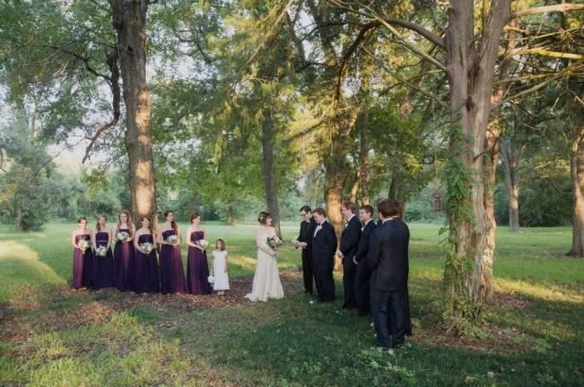 Nature + Vintage Inspired Louisiana Wedding {Heirloom Collective} 16