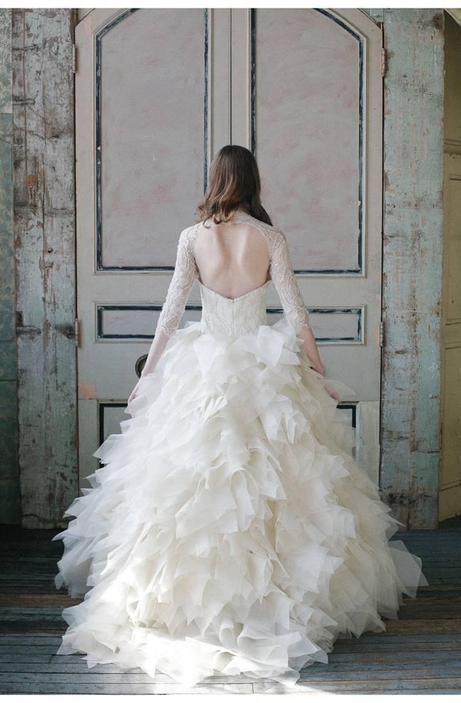 Sareh Nouri Spring 2015 Gown Collection 2_