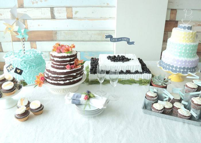 6 diy wedding cakes