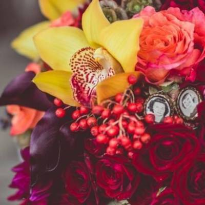 Red Autumn Rustic Wedding {Amy Zumwalt Photographers}