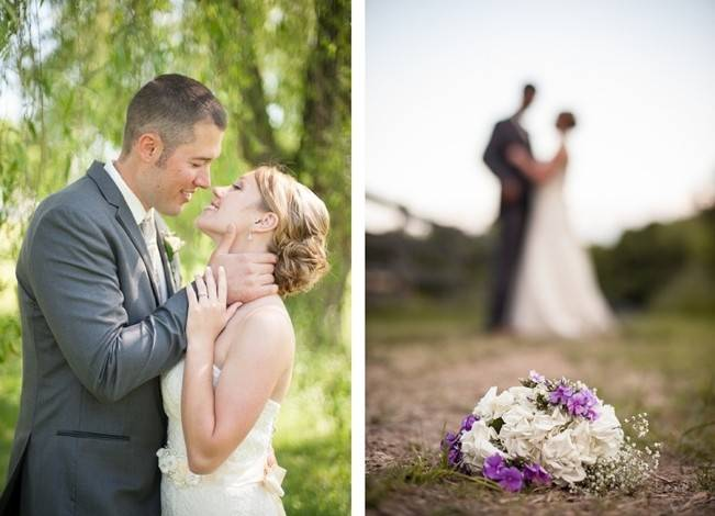 Turquoise + Purple Country Wedding {Bethany Snyder Photography} 9