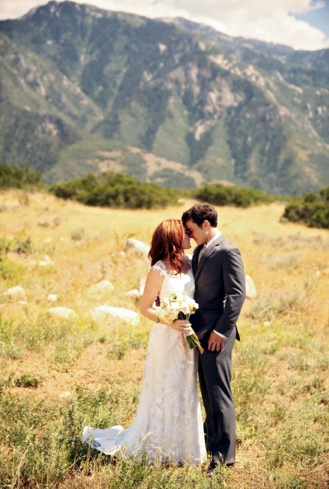 Utah Backyard Garden Wedding {Pepper Nix Photography} 7