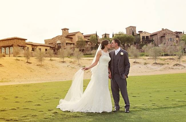Vintage-Inspired Wedding at Bella Collina {Heather Rice Photography} 13