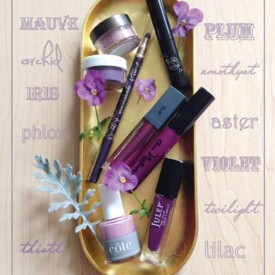 20 Pretty Purple Makeup Products for Fall
