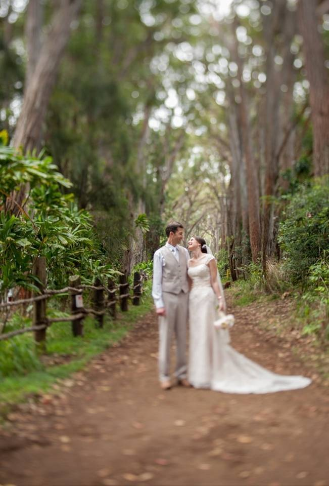 Pastel Oahu Destination Wedding {Rachel Robertson Photography} 11