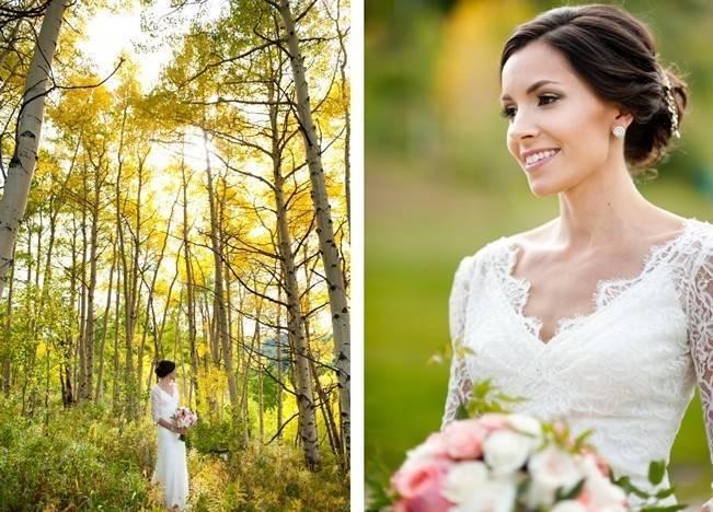 Rustic Beaver Creek Wedding at Beano's Cabin {Brinton Studios} 2
