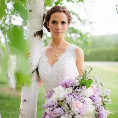 Lilac + Lace Country Chic Wedding Inspiration {The Light + Color}