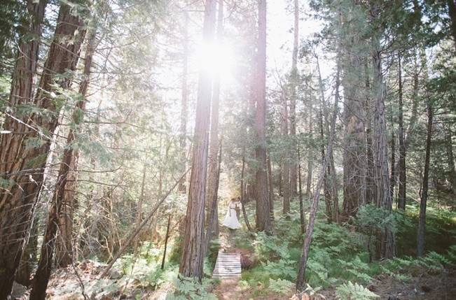 Rustic Sequoia National Park Wedding at {Carly Short Photography} 13