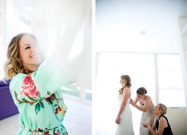 Backyard Vintage Boho Wedding {Christina O'Brien Photography} 2