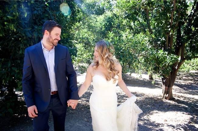 Backyard Vintage Boho Wedding {Christina O'Brien Photography} 5