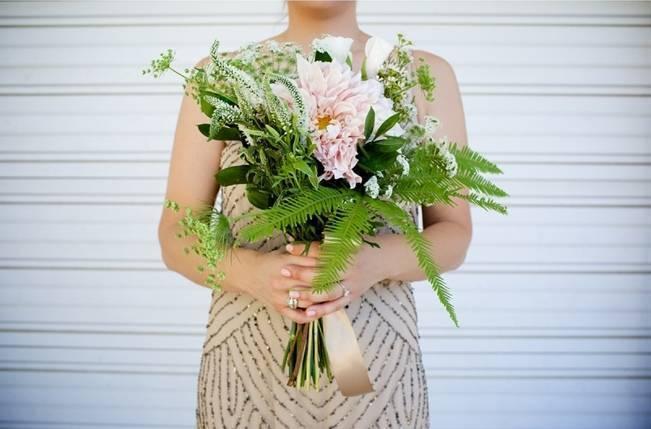 Backyard Vintage Boho Wedding {Christina O'Brien Photography} 8