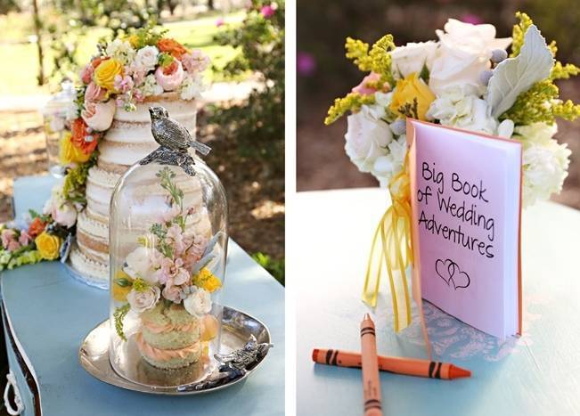 Fun Bright Wedding + Ideas for the Little Ones {Heather Rice Photography} 12