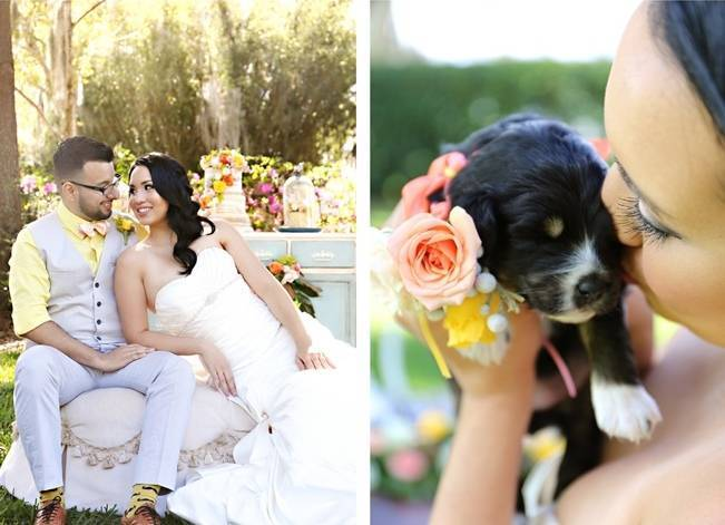 Fun Bright Wedding + Ideas for the Little Ones {Heather Rice Photography} 2