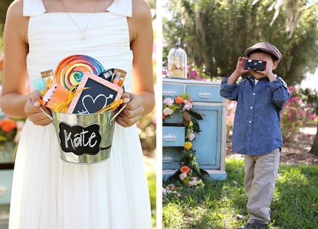 Fun Bright Wedding + Ideas for the Little Ones {Heather Rice Photography} 6
