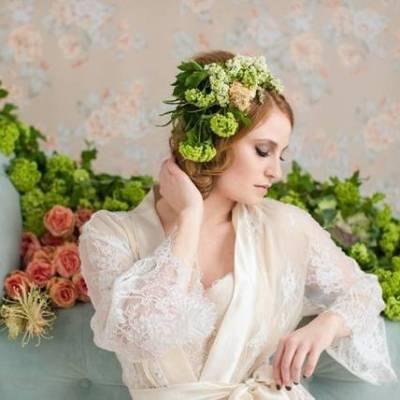 Floral Boudoir Shoot {Natalie Sinisgalli Photography}