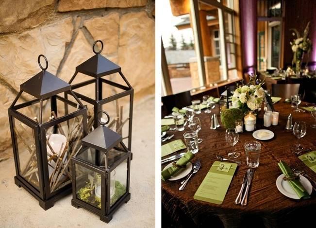 Green + Ivory Mountain Wedding at Deer Valley Resort 12