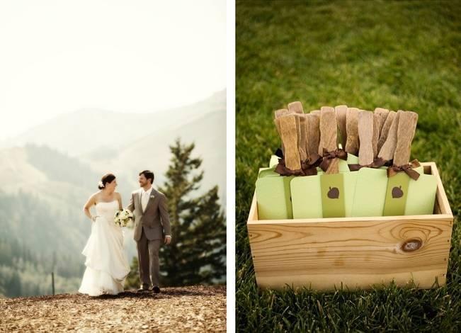 Green + Ivory Mountain Wedding at Deer Valley Resort  4