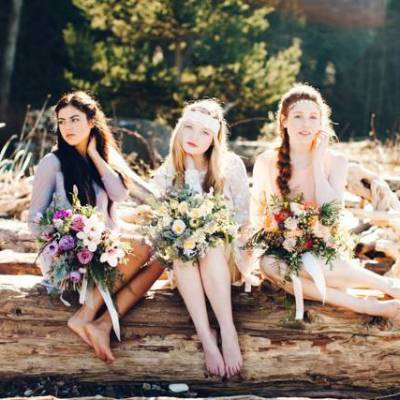 Bohemian Bride Inspiration {Catie Coyle Photography}