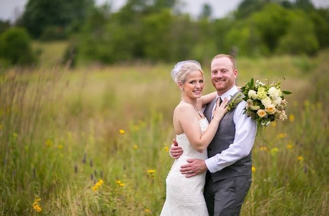 Hops Themed Wisconsin Farm Wedding {Studio Jada Photography} 16