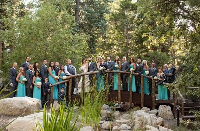 Rustic Woodland Mountain Wedding {Gilmore Studios} 14