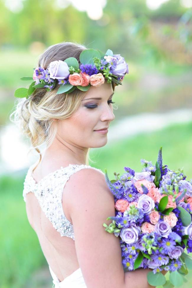 Road to Paradise Rustic Purple Bridal Look {Silver Nest Photography} 2