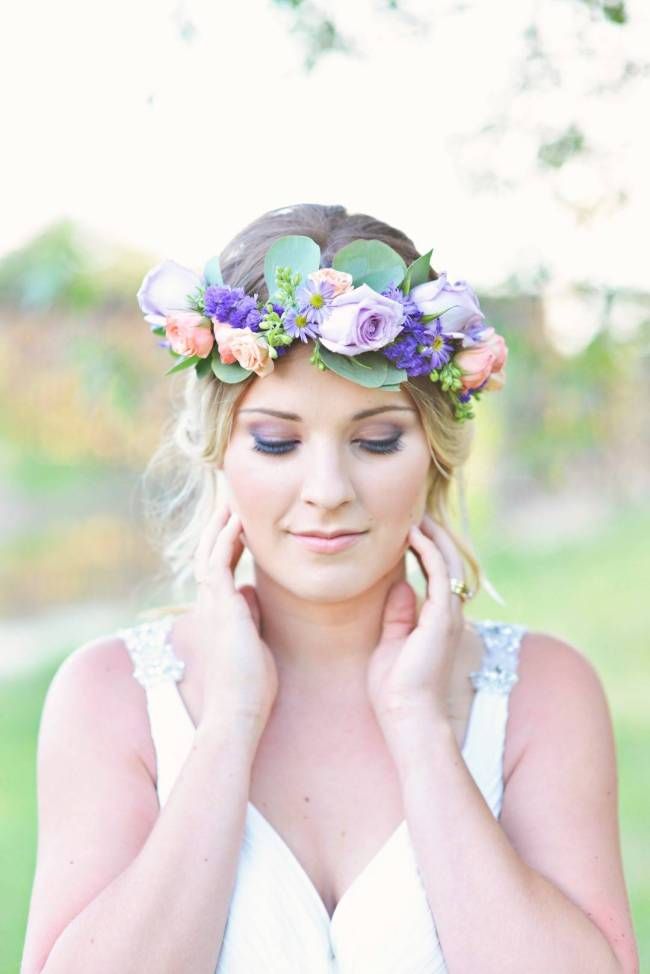 Road to Paradise Rustic Purple Bridal Look {Silver Nest Photography} 6