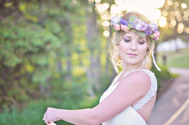 Road to Paradise Rustic Purple Bridal Look {Silver Nest Photography} 8