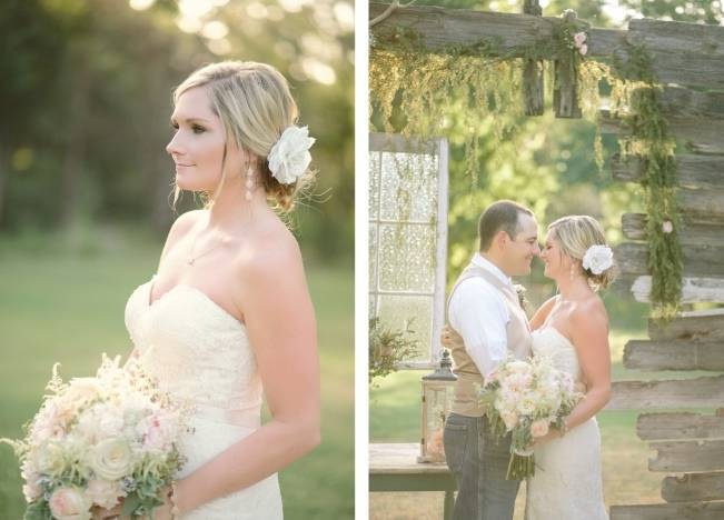 Light Blue Country Wedding with Rustic and DIY Details 6