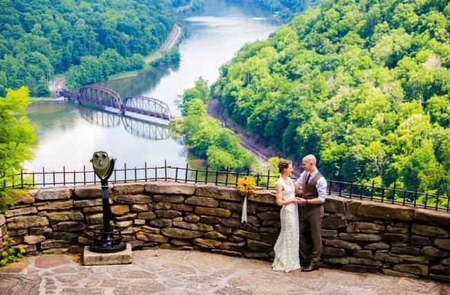 Nature Inspired wedding at Hawk's Nest State Park {Melissa Perella Photography} 14