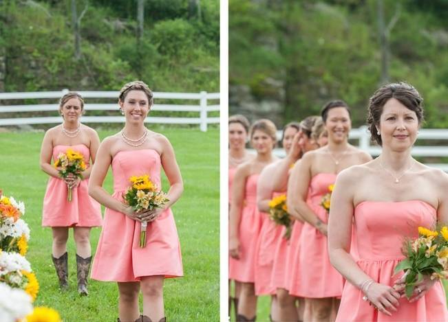 Rustic Pennsylvania Sunflower Wedding at Friedman Farms 8