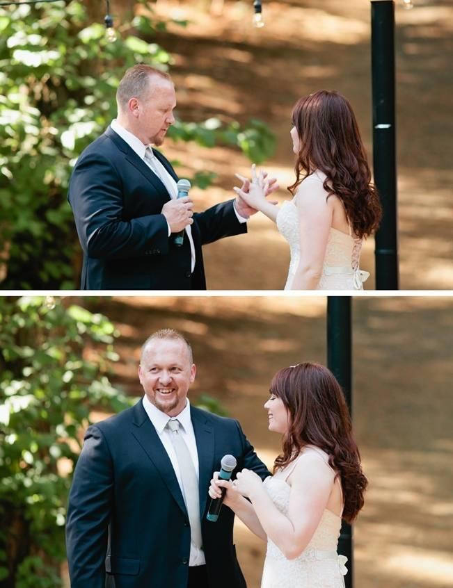 Beautiful Outdoor Oregon Wedding Reception at Ron's Pond {Kel Ward Photography} 17