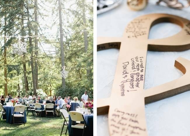 Beautiful Outdoor Oregon Wedding Reception at Ron's Pond {Kel Ward Photography} 21