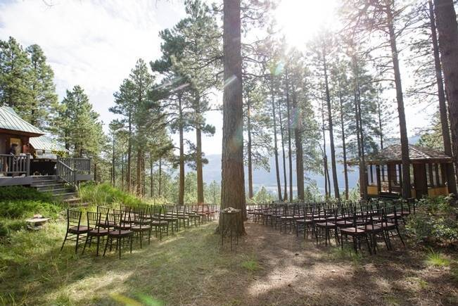 Colorado Mountain Wedding with Farm Table Reception 1