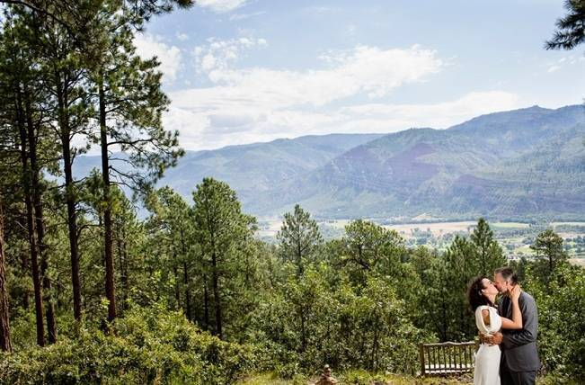 Colorado Mountain Wedding with Farm Table Reception 21