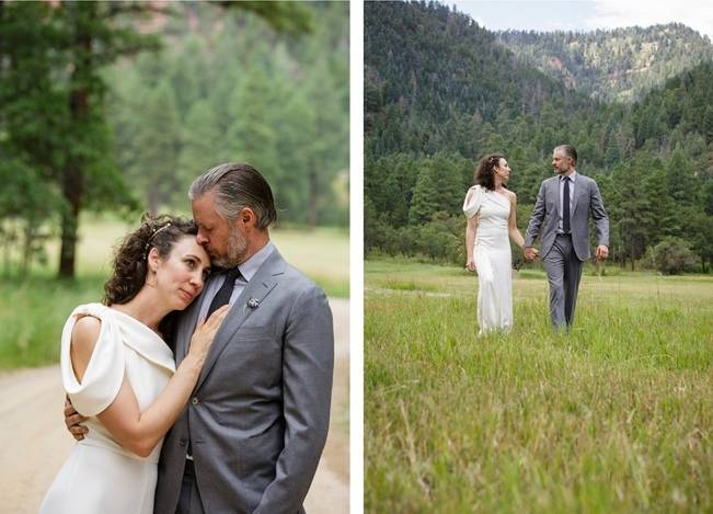 Colorado Mountain Wedding with Farm Table Reception 8