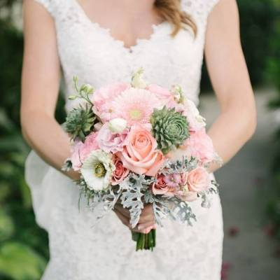 Michigan Garden Wedding at Southern Exposure Herb Farm