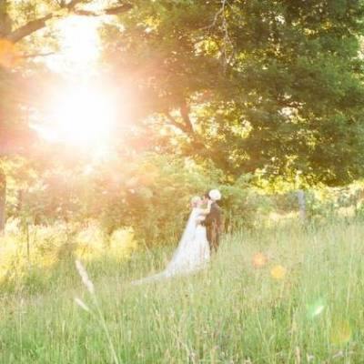 New England Castle and Barn Wedding at Gibbet Hill