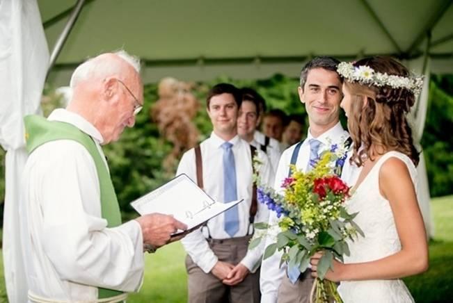 Colorful + Earthy North Carolina Farm Wedding 11