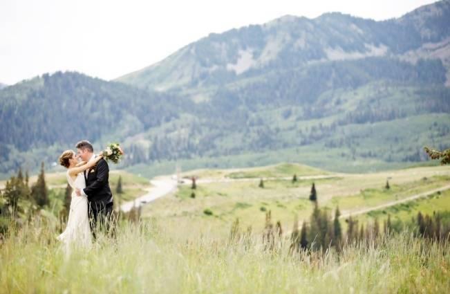 Mountain Chic Destination Wedding at Deer Valley, Utah 1