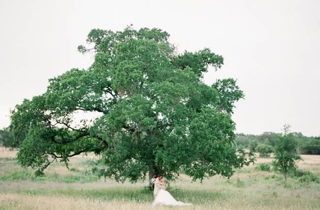 Organic Blush Wedding at The LBJ Wildflower Center in Austin, TX 15